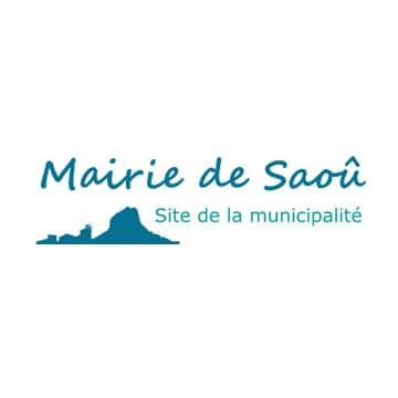 Logo de la Mairie de Saoû.